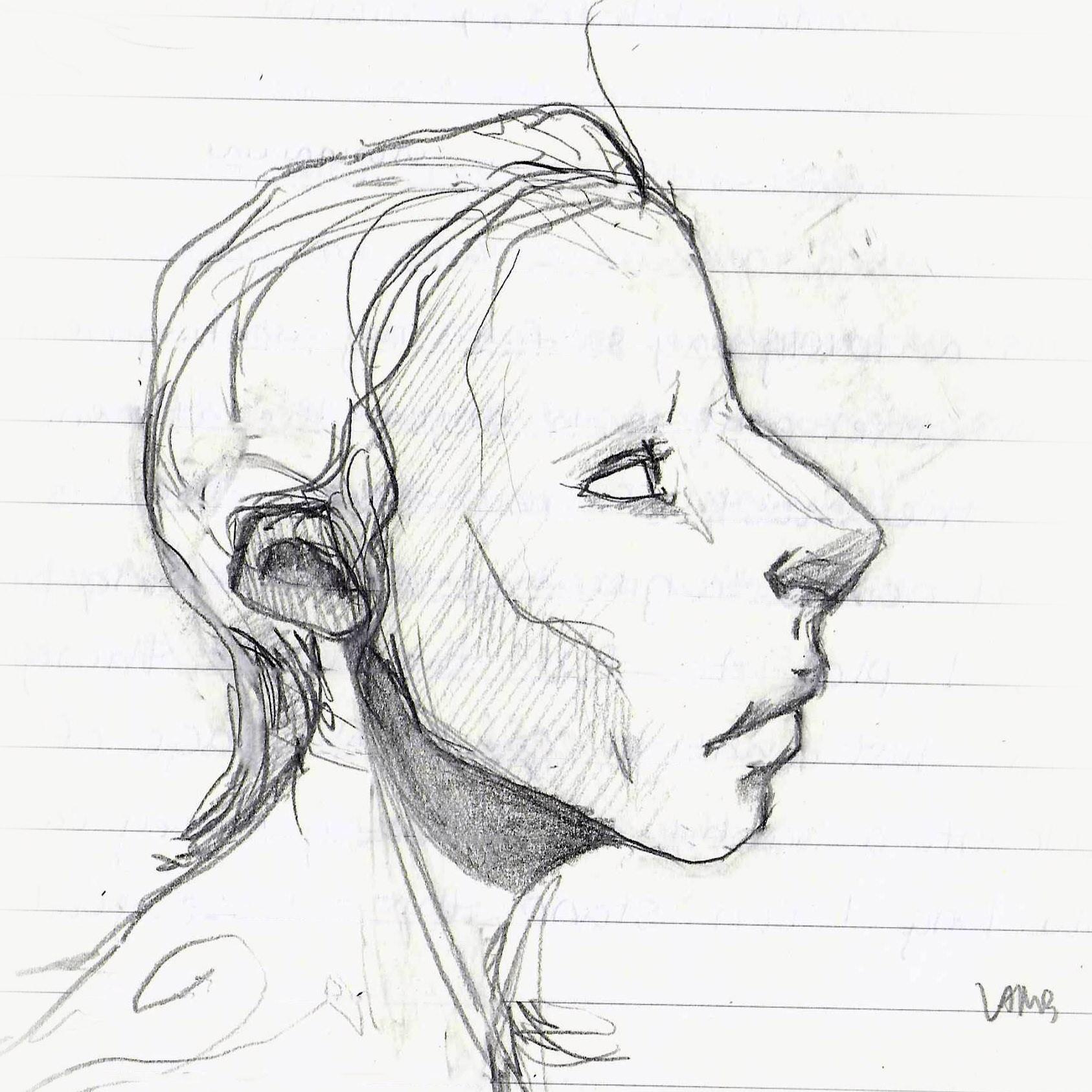 Tumnus Moran Lamb Sketch