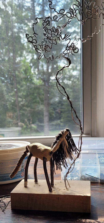 Tumnus Moran Little Horse and Tree 4