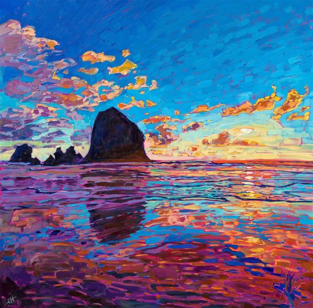 Erin Hanson, Sunset Reflections