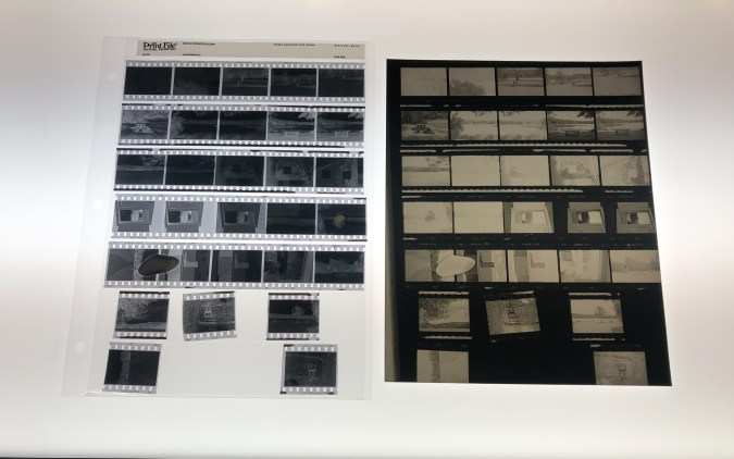 Film Strip and Contact sheet