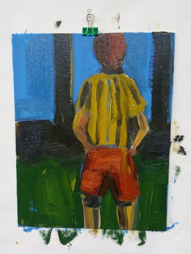 oil on canvas panel