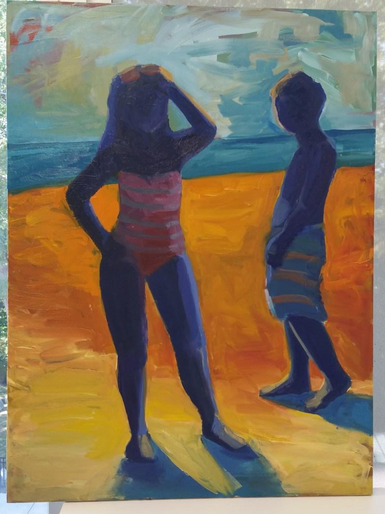 Final piece. Oil on canvas. 36x48.