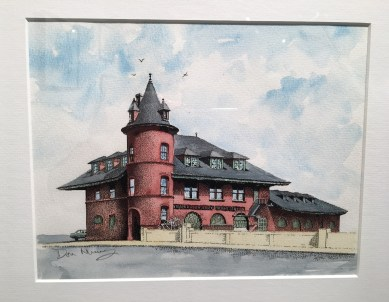 building watercolor