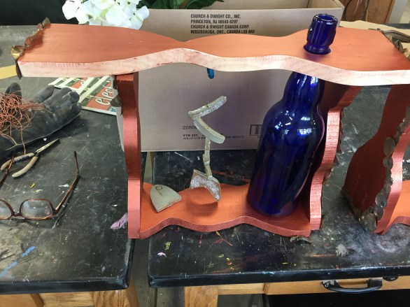 Duchamp Inspired Wood Sculpture