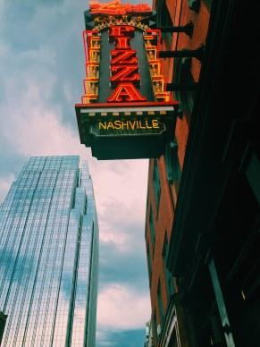 Nashville pizza sign