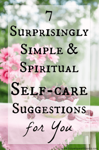 selfcare suggestions
