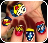 Nails: Wonder Woman  Can nail art be Feminist? | Where ...