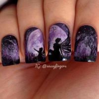 Nails: Fairy nails  All you need is faith, trust and a ...