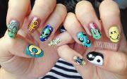 feminist nail art evil
