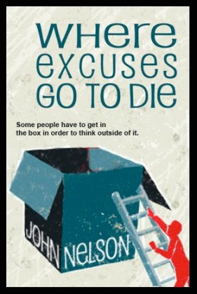 Where Excuses Go to Die Cover Concept_©GKS Creative