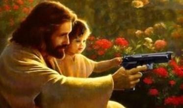 Jesus prefers Beretta Firearms