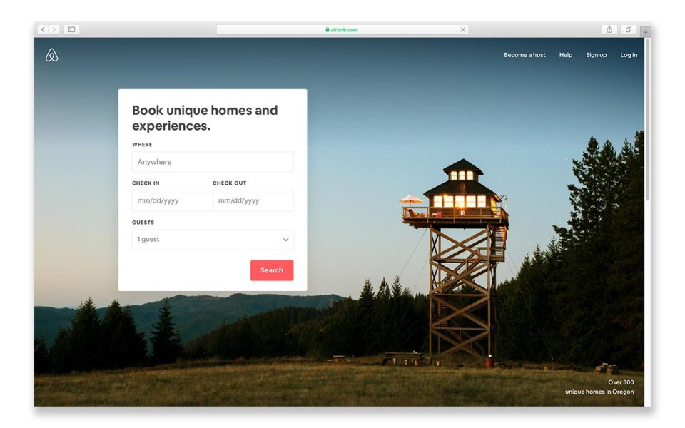 Traveling on a budget: book with Airbnb