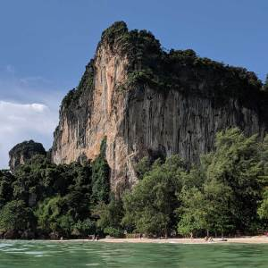 Thailand Beaches like Railay West offer great scenery as well as a great beach