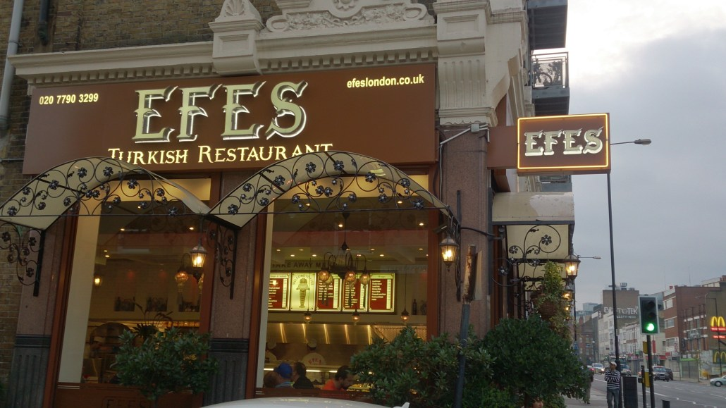 Efes Turkish Cuisine London Review