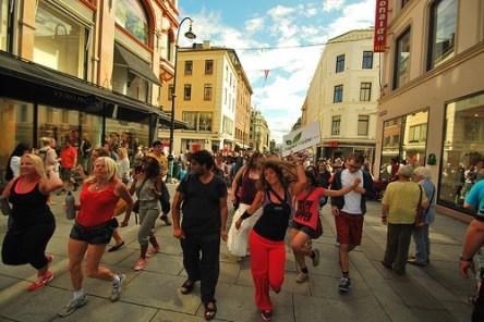 Dancewalk in Oslo