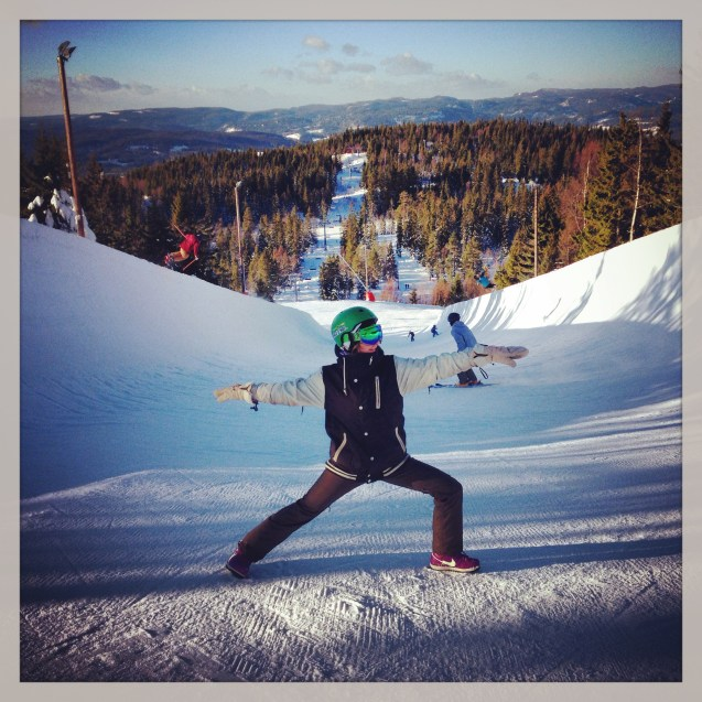 Yoga and Snowboard for beginners