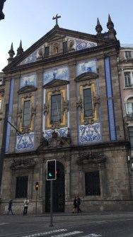 Some of the famous Azulejos (blue tiles)