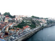 Overlooking the Rio Douro