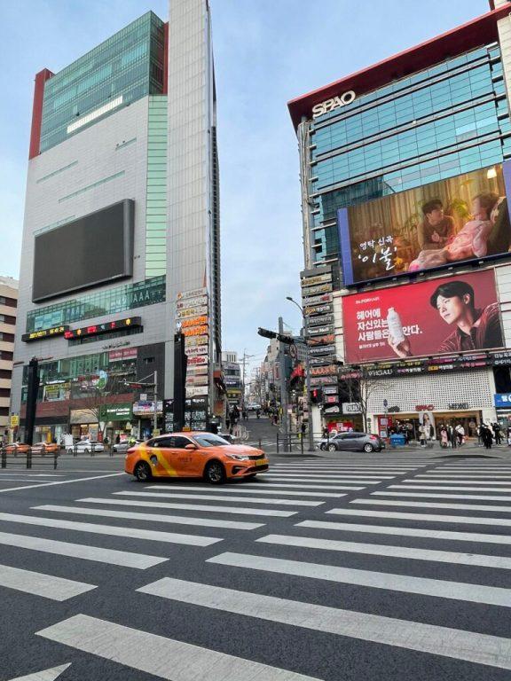gangnam in south korea