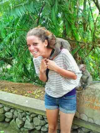 nina monkey ubud bail