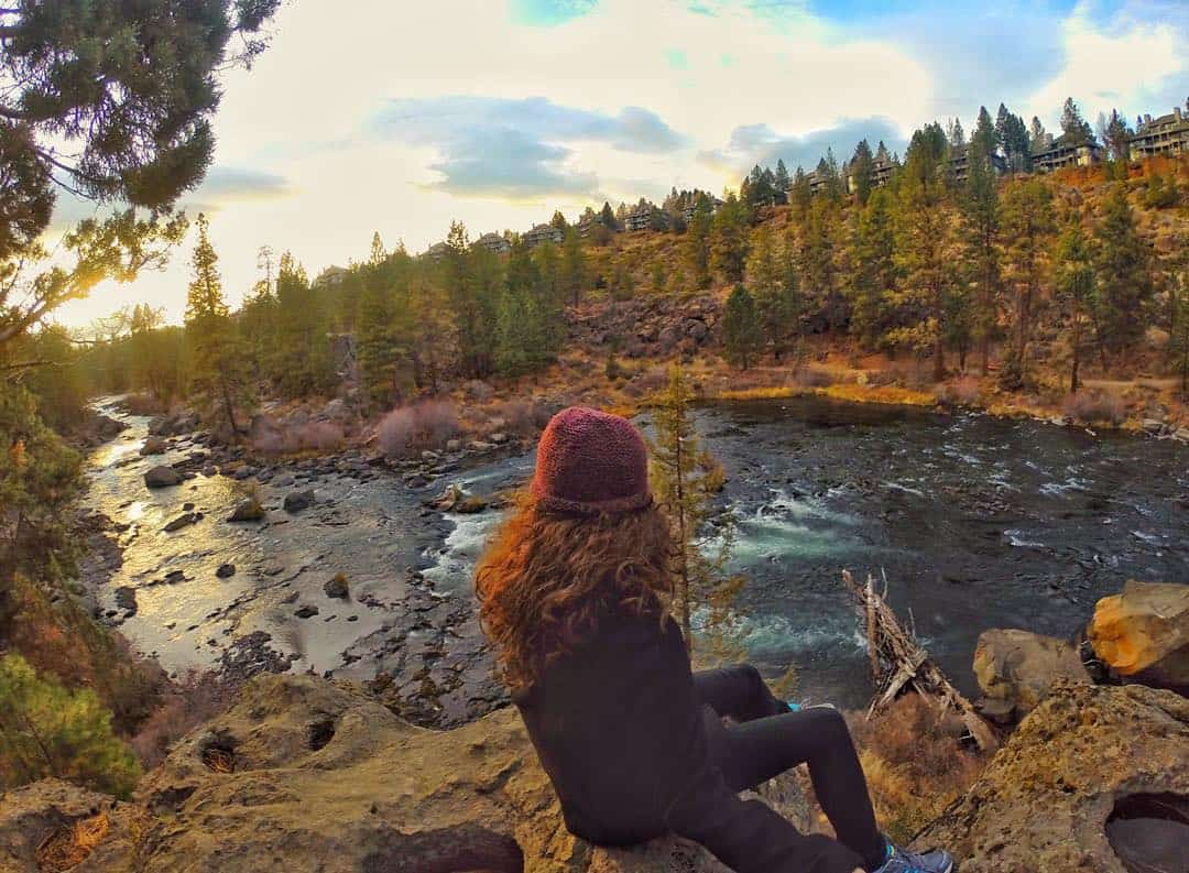 river trail in Bend