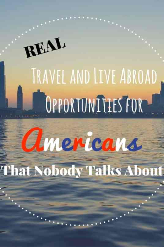 Travel and Live Abroad Opportunities for (2)