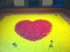 Valentine Day Decoration at Club Mahindra