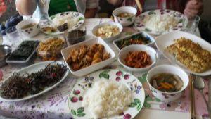 Korean feast! Thanks emo!