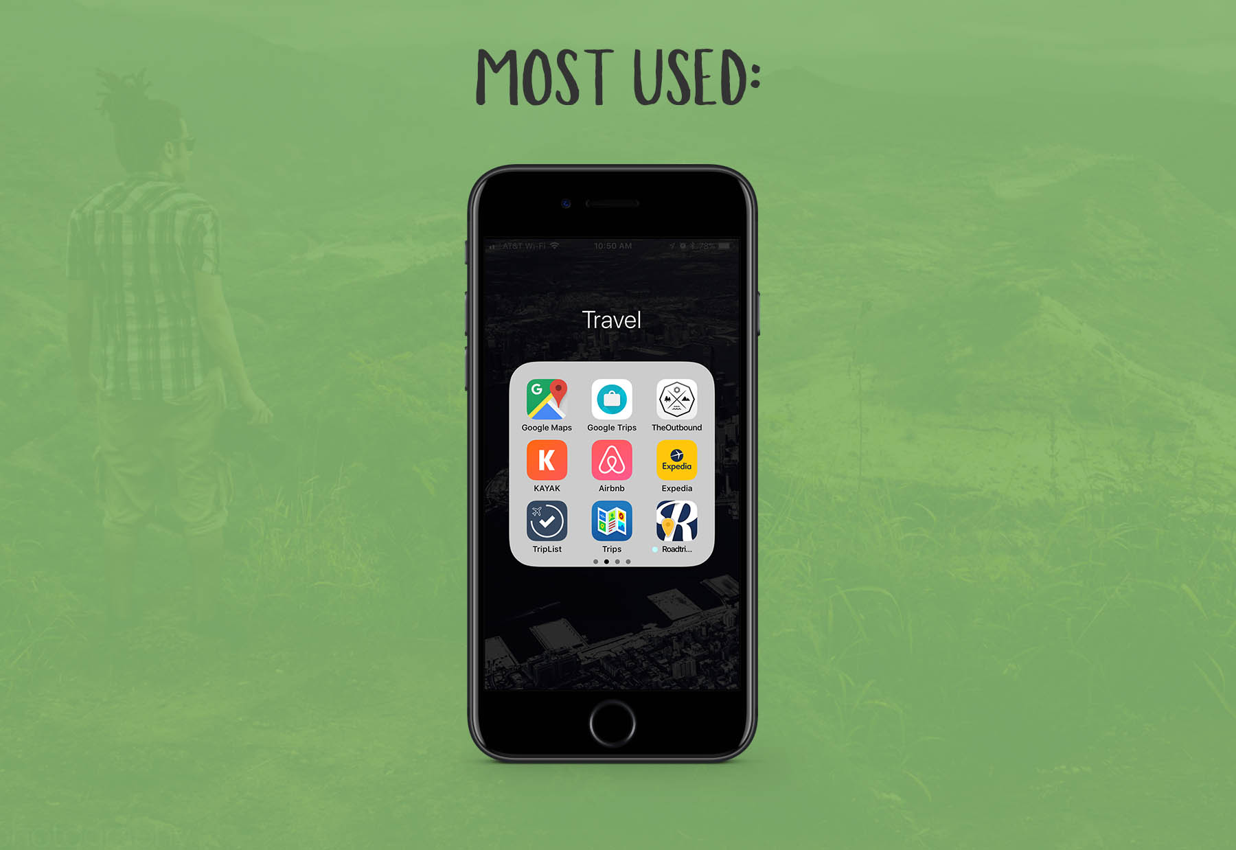 Most Used: Travel Apps