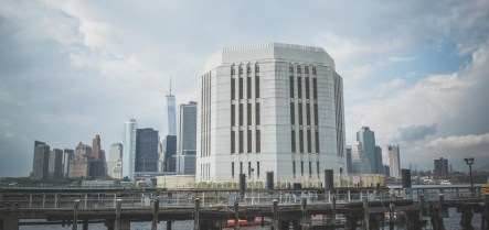 The Brooklyn-Battery Tunnel Vent Shaft
