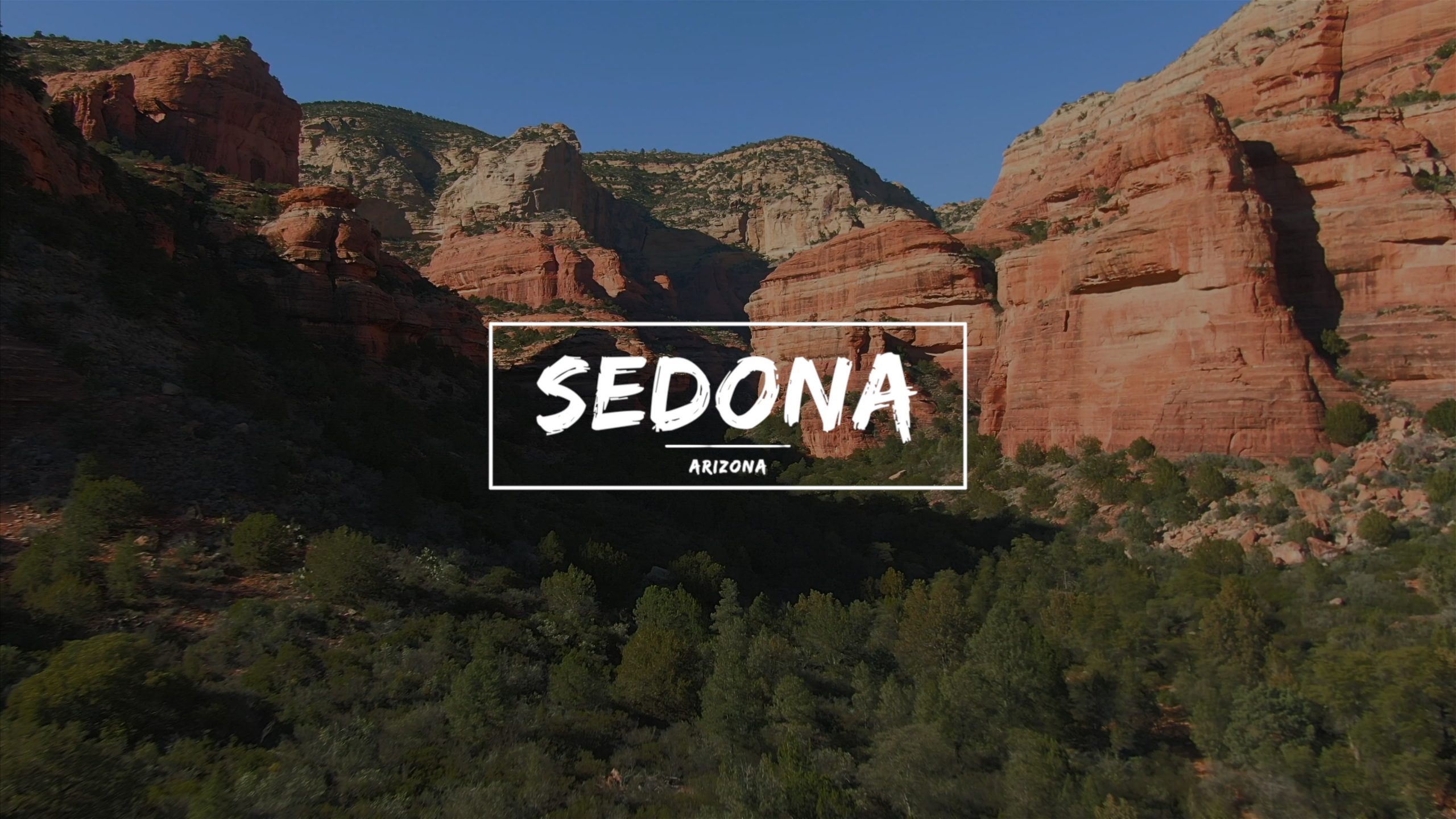 Sedona Red Rocks Aerials