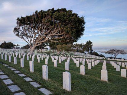 Fort Rosecrans military cemetery