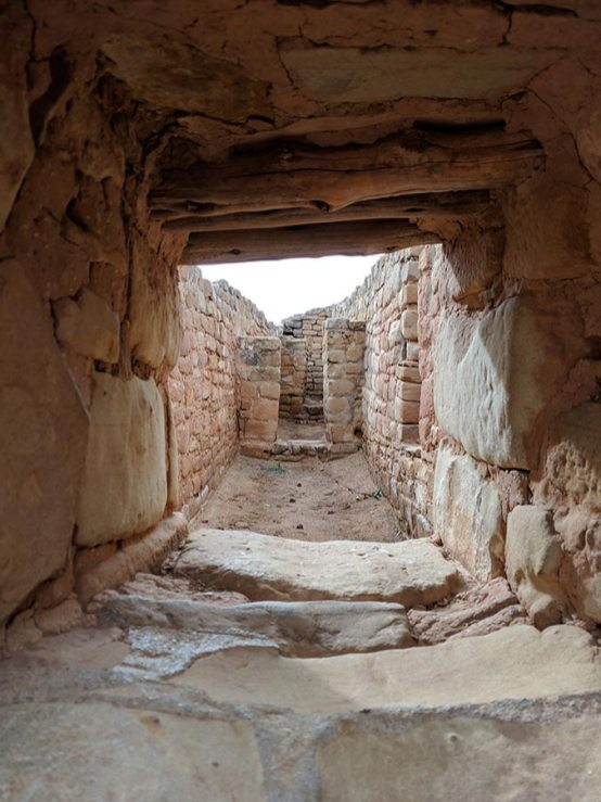 Mesa Verde national park,Ruins of a temple