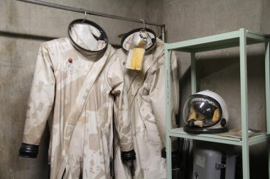 Suits for protection against the propellants