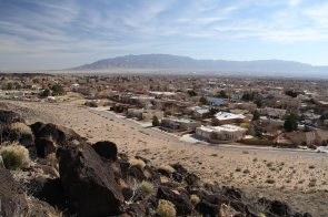 View from Petroglyphs National Monument