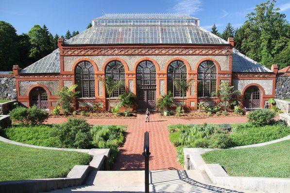 The formal gardens