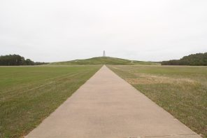 The hill from where they tested their gliders