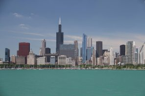 Willis tower and the Loop