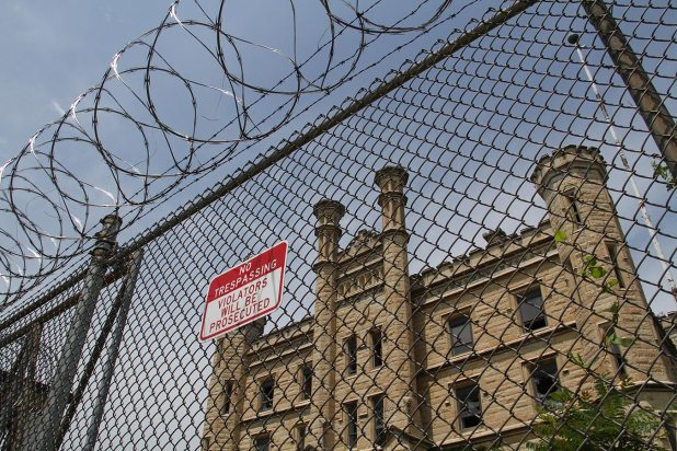 Joliet's old prison (closed) as featured in the Blues Brothers and in Prison Break.