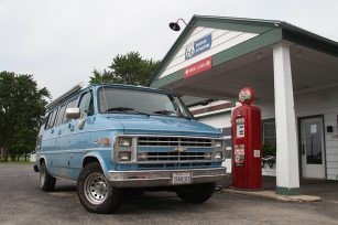 Ambler's Texaco (closed, restored)