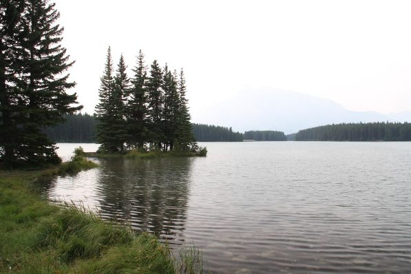 Two Jacks lake