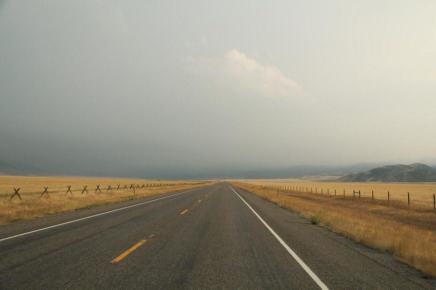 Back in Idaho
