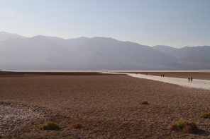 The lowest point, Badwater Basin (-86m)