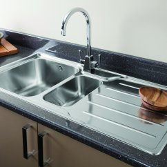 Stainless Steel Kitchen Sink Reviews Islands Home Depot Cozy Sinks For