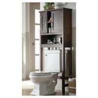 Bathroom: Bathroom Storage Cabinets Over Toilet