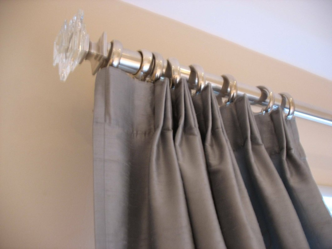 Shower curtain rod accessories curtain menzilperdenet for Curtain rods brackets accessories