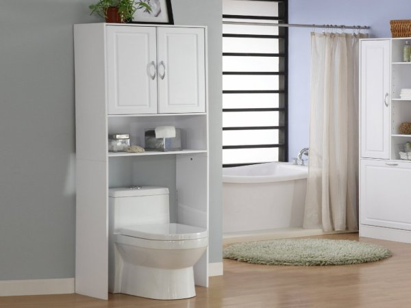 Bathroom Storage Over Toilet Cabinet
