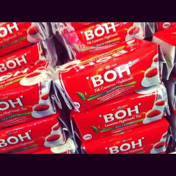 herbata BOH