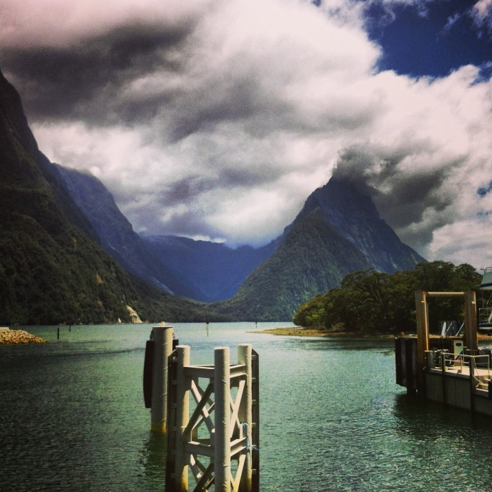 port w Milford Sound