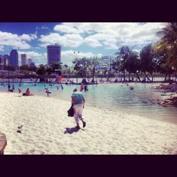 plaża w Brisbane